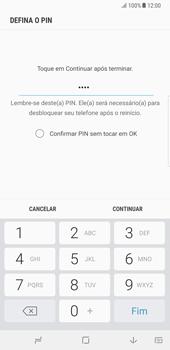 Samsung Galaxy Note 8 - Segurança - Como ativar o código de bloqueio do ecrã -  8
