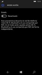 Microsoft Lumia 950 - Funciones básicas - Activar o desactivar el modo avión - Paso 6