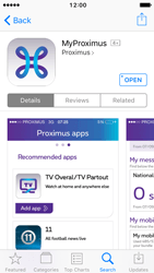 Apple iPhone 5 iOS 10 - Applications - MyProximus - Step 11