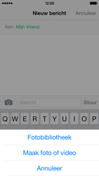 Apple iPhone 5 iOS 8 - MMS - hoe te versturen - Stap 8