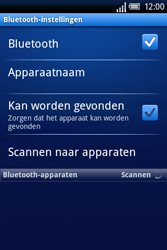 Sony Ericsson Xperia X8 - Bluetooth - Headset, carkit verbinding - Stap 6