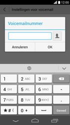 Huawei Ascend P6 (Model P6-U06) - Voicemail - Handmatig instellen - Stap 7