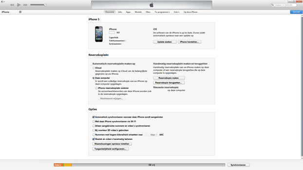 Apple iPhone 5 iOS 8 - Software - Installeer firmware update - Stap 5