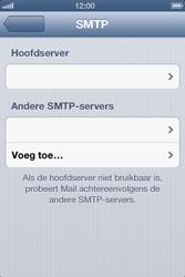 Apple iPhone 4S met iOS 6 (Model A1387) - E-mail - Handmatig instellen - Stap 15