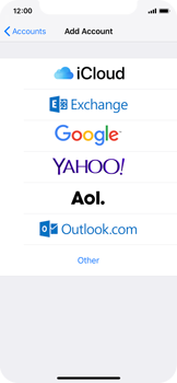 Apple iPhone XS - E-mail - Manual configuration (outlook) - Step 5