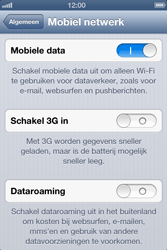 Apple iPhone 4S met iOS 6 (Model A1387) - Internet - Uitzetten - Stap 5