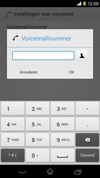 Sony D2303 Xperia M2 - Voicemail - handmatig instellen - Stap 8