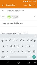 Wiko U-Feel Lite - E-mail - Hoe te versturen - Stap 8