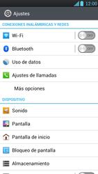LG Optimus L9 - Funciones básicas - Activar o desactivar el modo avión - Paso 4