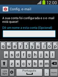 Samsung Galaxy Pocket Neo - Email - Configurar a conta de Email -  18
