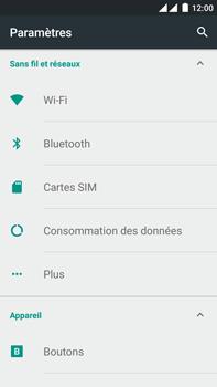 OnePlus 2 - Internet - Configuration manuelle - Étape 4