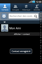 Samsung Galaxy Ace - Contact, Appels, SMS/MMS - Ajouter un contact - Étape 6
