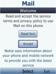 Nokia C2-05 - E-mail - Manual configuration - Step 4