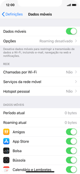Apple iPhone X - Internet no telemóvel - Como configurar ligação à internet -  5