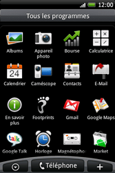 HTC A6262 Hero - E-mail - Configuration manuelle - Étape 3