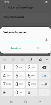 Samsung Galaxy S9 Android Pie - Voicemail - handmatig instellen - Stap 11