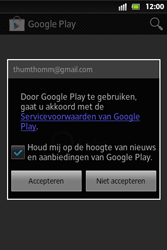 Sony ST27i Xperia Go - Applicaties - Applicaties downloaden - Stap 14