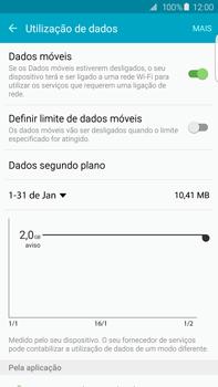 Samsung Galaxy S6 Edge + - Internet no telemóvel - Como ativar os dados móveis -  6
