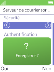 Mobiwire Doli - E-mails - Ajouter ou modifier un compte e-mail - Étape 27