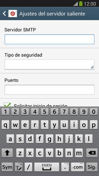 Samsung Galaxy Note 3 - E-mail - Configurar correo electrónico - Paso 12