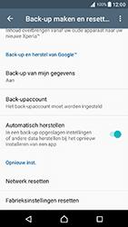 Sony Xperia X Compact (F5321) - Android Nougat - Resetten - Fabrieksinstellingen terugzetten - Stap 5