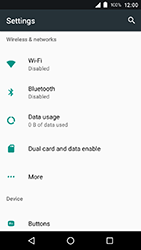 Crosscall Action X3 - Internet - Disable mobile data - Step 4