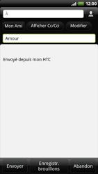 HTC X515m EVO 3D - E-mail - envoyer un e-mail - Étape 6
