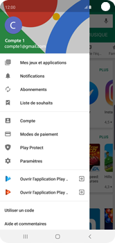 Samsung Galaxy S10 - Applications - comment vérifier si des mises à jour sont disponibles pour l'appli - Étape 6