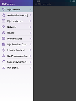 Apple iPad Pro 9.7 - iOS 10 - Applicaties - MyProximus - Stap 17