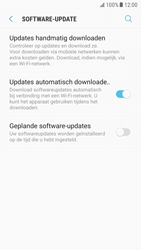 Samsung Galaxy S6 - Android Nougat - Software update - update installeren zonder PC - Stap 5