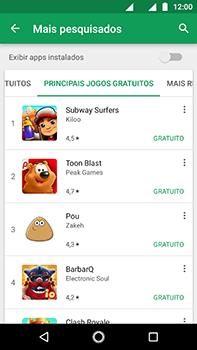 Motorola Moto Z2 Play - Aplicativos - Como baixar aplicativos - Etapa 6