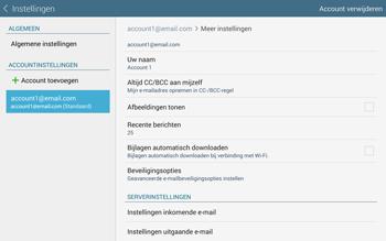 Samsung Galaxy Tab S 10.5 4G (SM-T805) - E-mail - Instellingen KPNMail controleren - Stap 14