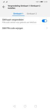 Huawei P30 Pro - Beveiliging - pas de pincode voor je simkaart aan - Stap 15