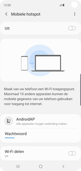 Samsung Galaxy S10 - Internet - mijn data verbinding delen - Stap 12