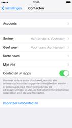 Apple iPhone 7 (Model A1778) - Contacten en data - Contacten kopiëren van SIM naar toestel - Stap 4
