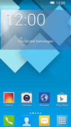 Alcatel OT-5036X Pop C5 - E-mail - e-mail instellen: POP3 - Stap 1