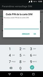 Wiko WIM Lite - Sécuriser votre mobile - Personnaliser le code PIN de votre carte SIM - Étape 9