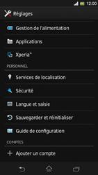 Sony Xpéria SP - Sécuriser votre mobile - Activer le code de verrouillage - Étape 4