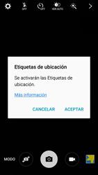 Samsung Galaxy S6 - Funciones básicas - Uso de la camára - Paso 4