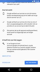 LG Nexus 5X - Android Oreo - Applicaties - Account instellen - Stap 13