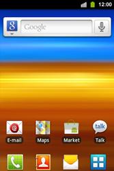 Samsung S5830i Galaxy Ace i - MMS - automatisch instellen - Stap 1