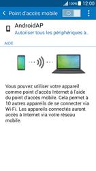 Samsung Galaxy Grand Prime (G530FZ) - Internet et connexion - Partager votre connexion en Wi-Fi - Étape 6