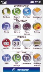 LG GD900 Crystal - E-mail - Sending emails - Step 3