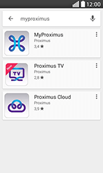 LG H220 Joy - Applications - MyProximus - Étape 8