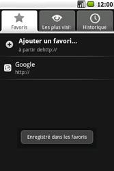 Samsung I5700 Galaxy Spica - Internet - Navigation sur Internet - Étape 10