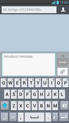 LG Optimus L9 - Mensajería - Escribir y enviar un mensaje multimedia - Paso 9