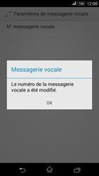 Sony E2003 Xperia E4G - Messagerie vocale - configuration manuelle - Étape 10