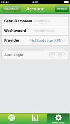 Apple iPhone 5 met iOS 7 - WiFi - KPN Hotspots configureren - Stap 10