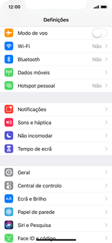 Apple iPhone XS - Internet no telemóvel - Como configurar ligação à internet -  3