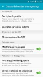 Samsung Galaxy J3 (2016) - Segurança - Como ativar o código PIN do cartão de telemóvel -  6